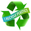 I RECYCLE PLASTICS