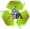 industrial mass recycling
