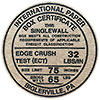 INTERNATIONAL PAPER BOX CERTIFICATE (Pa, US)