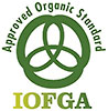 Certyfikat ekologiczny IOFGA (Irish Organic Farmers 