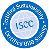 ISCC - Certified GHG (Greenhouse Gas) Savings
