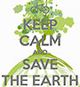 (bi-cycle) KEEP CALM AND SAVE THE EARTH (UK)