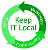 Keep IT Local: Business - Community - Jobs (US)