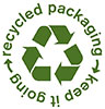 recycled packaging - keep it going