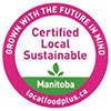 Certified Local Sustainable (food, CA)
