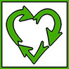 love green recycling (sticker)