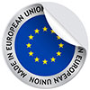 MADE IN EUROPEAN UNION (sticker)