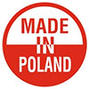 MADE IN POLAND (official style logo 2016-, PL)
