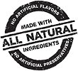 Made with all Natural Ingredients