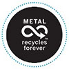 metal recycles forever (CA)