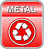 METAL recycling (red plate)