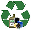 motor oil & filters recycling (local, US)