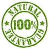 NATURAL 100% GUARANTEE