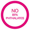 NO BPA PHTHALATES (JP)