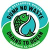 DUMP NO WASTE - DRAINS TO OCEAN (US)