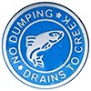 NO DUMPING - DRAINS TO CREEK (US)