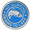 NO DUMPING - DRAINS TO LAKE (US)