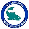 NO DUMPING - DRAINS TO (Neuse) RIVER (US)