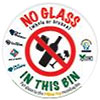 NO GLASS IN THIS BIN (AU)