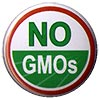 NO GMOs (stock button)