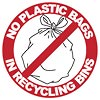 NO PLASTIC BAGS IN RECYCLING BINS (AU)