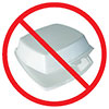 no styrofoam packagings (ban)
