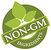 NON-GM INGREDIENTS (stamp)