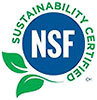 NSF Sustainability Certified