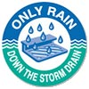 ONLY RAIN - DOWN THE STORM DRAIN