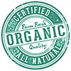 ORGANIC ALL NATURAL CERTIFIED Farm Fresh Quality (stamp)