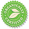 ORGANICALLY CERTIFIED (purify seal/stamp)