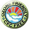 Ozone friendly CFC free