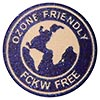 OZONE FRIENDLY FCKW FREE