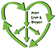 Peace Love & Recycle