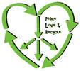 Peace Love & Recycling
