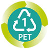 PET (recycling item number one)
