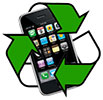 phones recycling (icon)