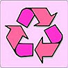 pink recycling