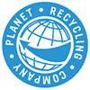 Planet Recycling Company (logo)