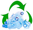 plastic bottles recycling rise