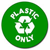 [recycling] PLASTIC ONLY (green dot)