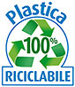 Plastica 100% RICICLABILE (IT)