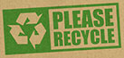 PLEASE RECYCLE (cardboard, FI)