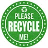 PLEASE RECYCLE ME!