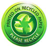 PRINTED ON RECYCLED PAPER - PLEASE RECYCLE (CN)