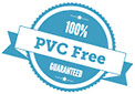 100% PVC Free GUARANTEED (stamp, AU)