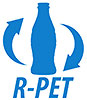 R-PET bottles cycling