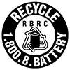 recycle battery (RBRC, US)