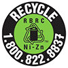 recycle Ni-Zn battery (RBRC, US)