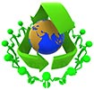 recycle care over planet (play)